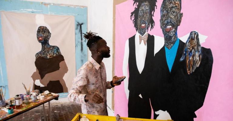 Em parceria com artista ganense, nova campanha da Dior traz apenas modelos negros