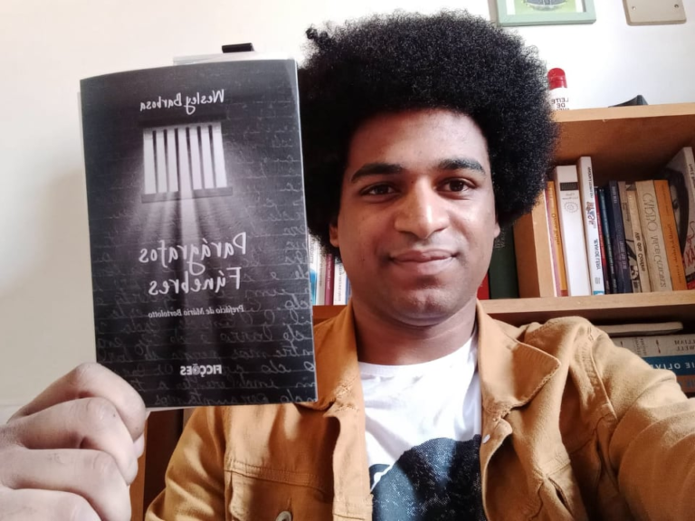 Escritor Wesley Barbosa publica livro sobre os efeitos do coronavírus nas prisões