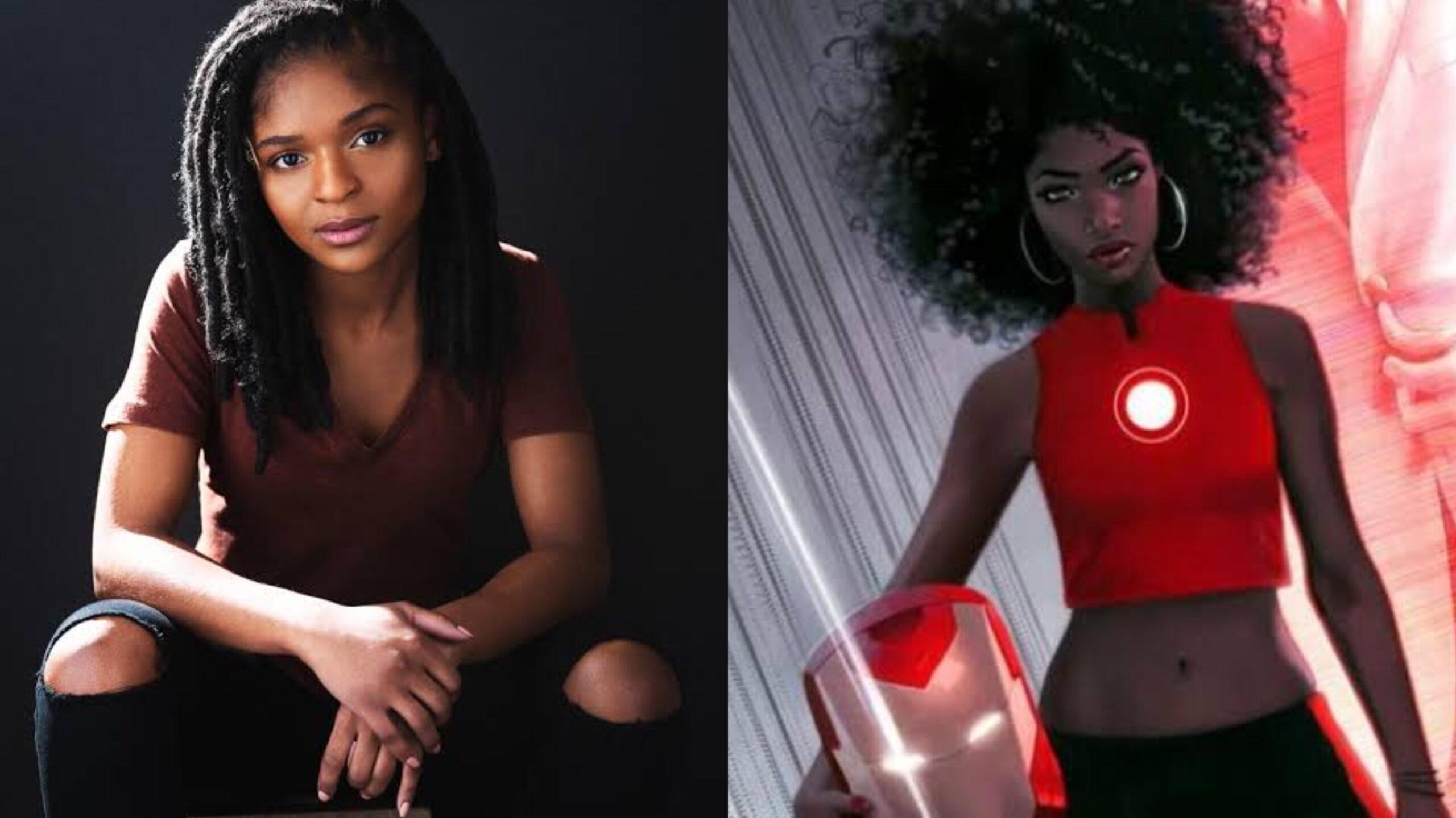 """Dominique Thorne será Riri Williams em """"Coração de Ferro"""" nova série da  Marvel do Disney Plus """" - Mundo Negro"""