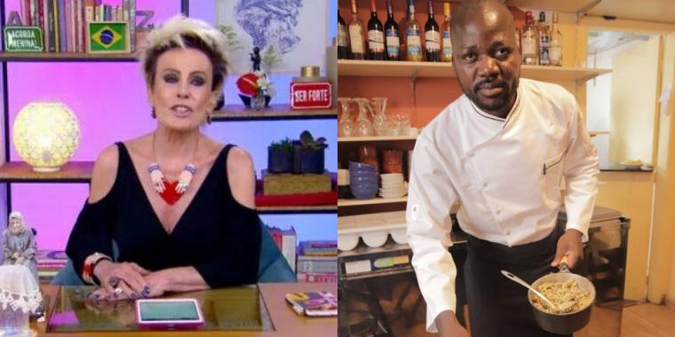 Chef congolês, desabafa sobre preconceito de Ana Maria Braga com comida tipicamente africana