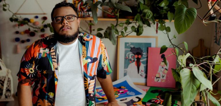 O designer gráfico e ilustrador Willian Santiago morre aos 30 anos, vítima da Covid 19