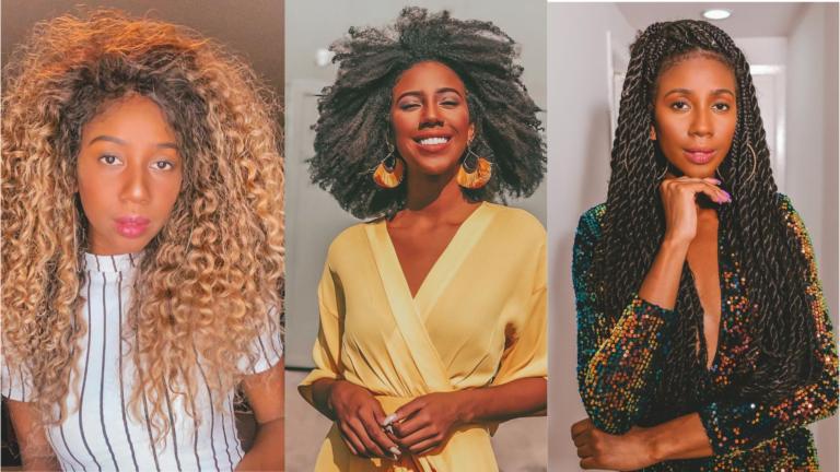 """""""Luto pela liberdade da mulher usar o cabelo que ela quiser"""", Camilla de Lucas fala sobre suas laces"""