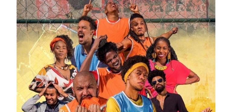"""Coletivo Preto estreia peça on-line """"Pelada"""", sobre um campeonato de futebol valendo uma leitoa"""