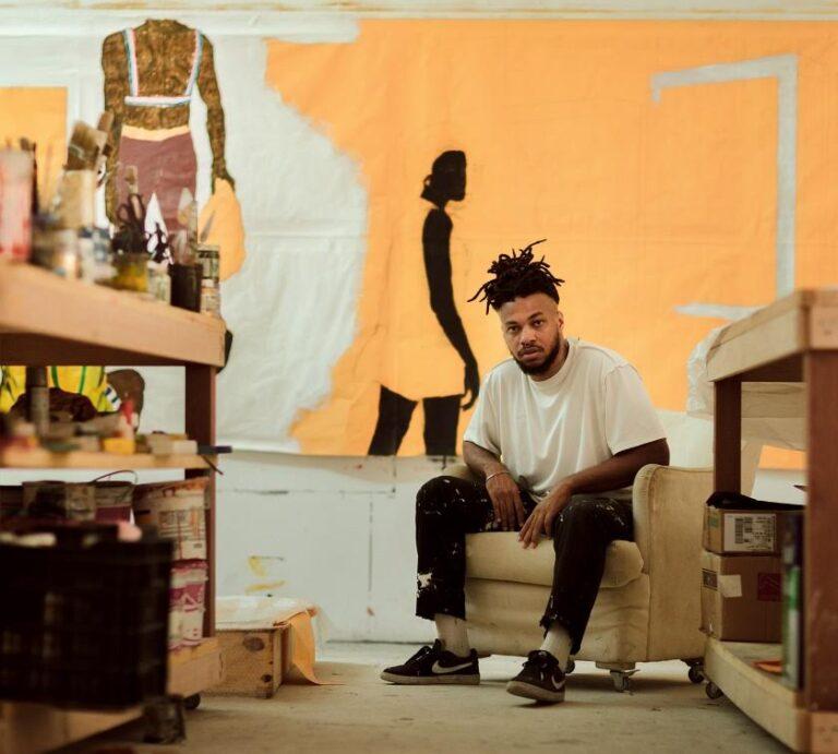 Conheça Maxwell Alexandre, artista da Rocinha que apresentou sua arte na Casa Vogue