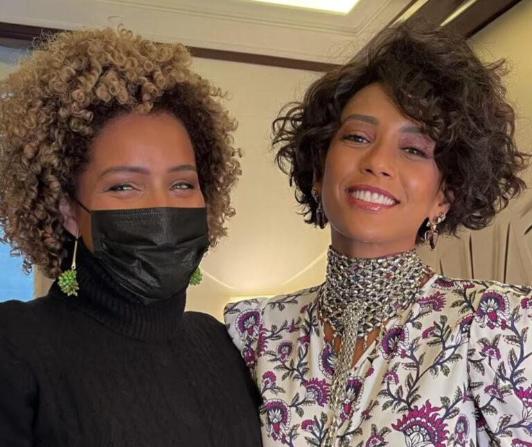 Descobrimos os segredos do cabelo estilo Whitney Houston da Taís Araújo